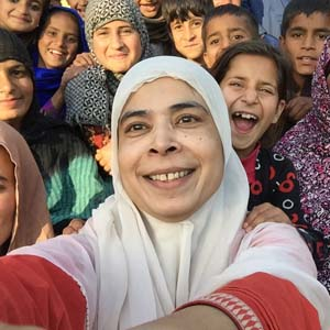 Lubna Hashmat, Australia Awards alumna
