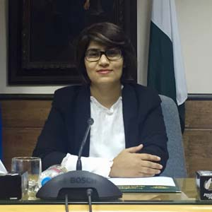 Misbah Zafar, Australia Awards alumna