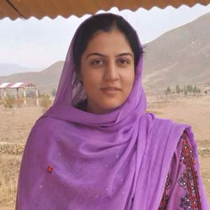 Saman Bakhtawar, Australia Awards alumna