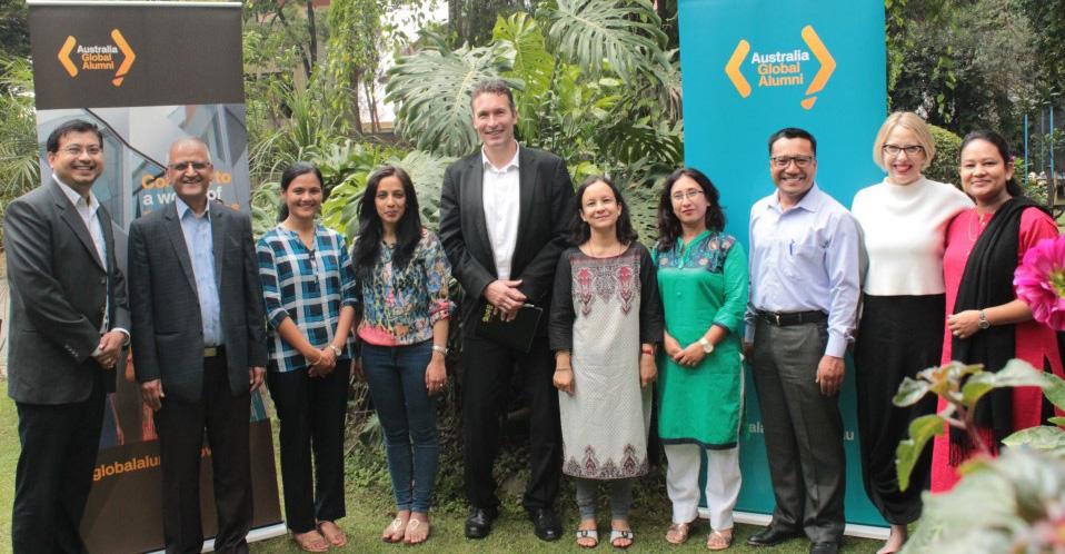 Australia Awards Alumini Grant Nepal